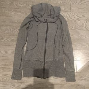 Women's Gray Hoody by Lululemon